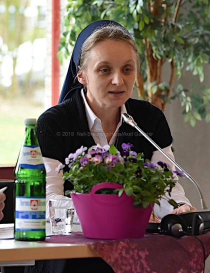 Schwester Svitlana Matsiuk 2019